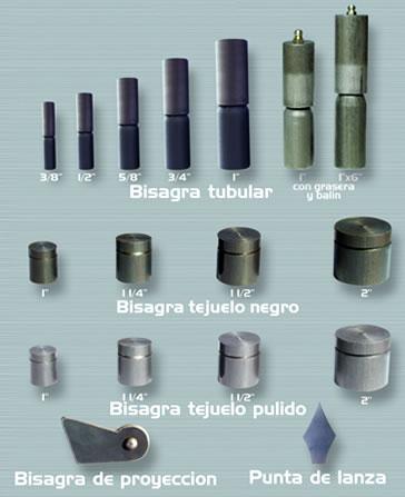 Forja metal herrajes bisagras tubulares pasadores - Tipos de bisagras para puertas ...